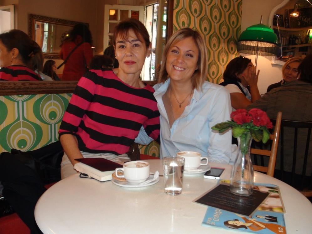 Entrevista en el Lolina Vintage Café