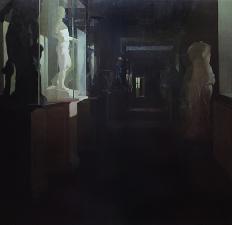 """El pasillo de escultura"""