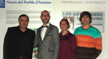 De izq. a drch. Julio de la Fuente, Luis A., Sonia Fdez y Jim-Box. Cine en 'A (IV edición). Marisol Huerta. MusÃ