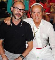 Luis Alberto & Elio Berhanyer. MBFWM. Madrid, 2012. Carmen Nieto. Aprendiendo de los Grandes.