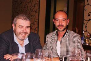 Lorenzo Caprile & Luis Alberto Fernández. Julio de la Fuente. Restaurante La Salgar (estrella Michelín). Gijón