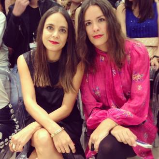 Jocely y Anapaula, editoras de Cream