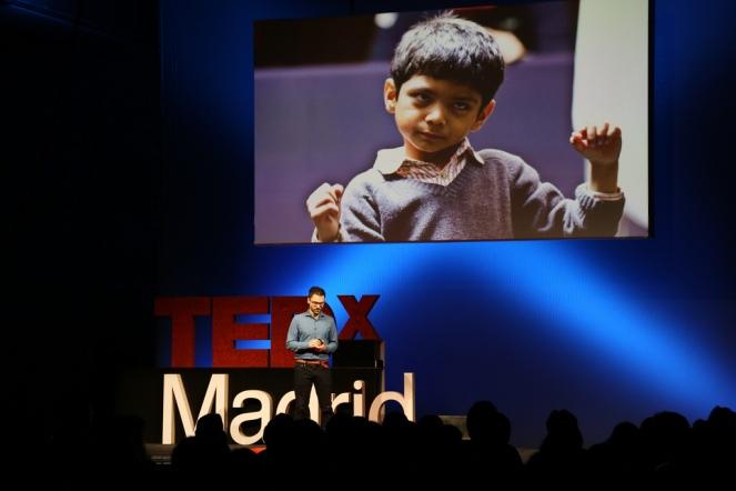 Julio Obelleiro en el evento del 28 de septiembre de 2013 de TEDxMadrid