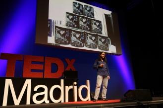 Guillermo G. Peydró en el evento del 28 de septiembre de 2013 de TEDxMadrid