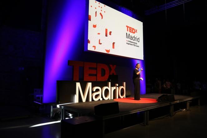Antonella Broglia en el evento del 28 de septiembre de 2013 de TEDxMadrid