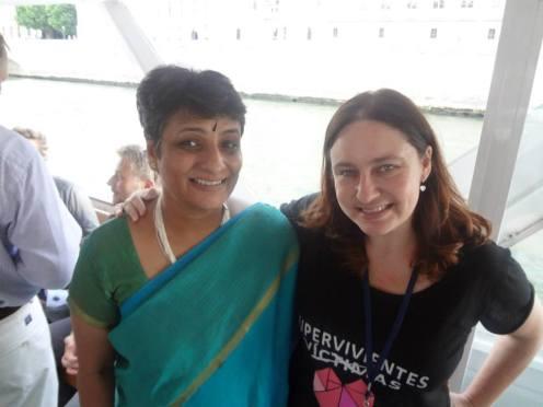 Ashoka Fellow Spain Dos embajadoras de Ashoka Fellow, la hindú, Mukti y Ana Bella