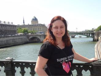 Ana Bella en París, en la reunión de lideres mundiales de Ashoka.