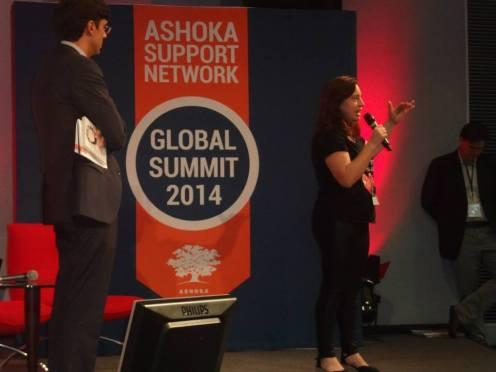 En el encuentro de Ashoka en París