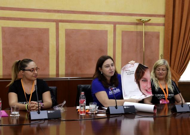 La Fundación Ana Bella en el Parlamento andaluz
