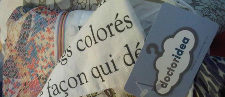 Pañuelos de Almudena Solana para Doctor Idea