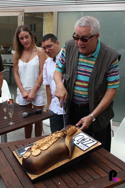 Junto a Paquito D'Rivera en la presentanción del Clazz