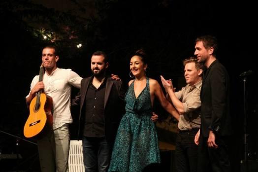 Lucas Carrelis, Ismael Alcina, Carmen Doorá, Ismael Mateo, Angel Dorao e Ivan Santa.
