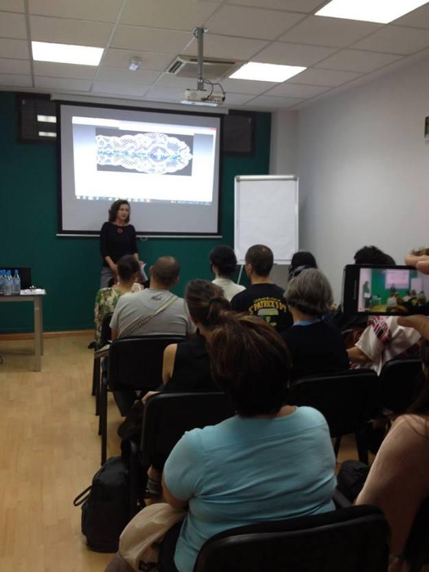 Elena en un evento de Social&Social
