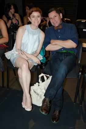 Sofía Calvo, directora de Quinta Trends con Alejandro Turis. Foto Lontano Fotos por Lontano
