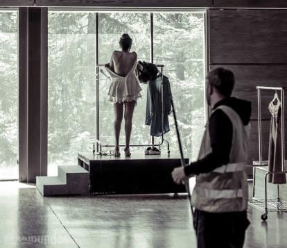 Performance de Arte 4 en la IV Jornada de Moda Sostenible