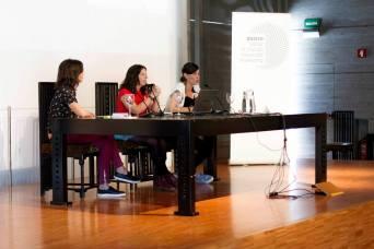 Laura Martínez Hortal junto a Susana Rodriguez y Pilar Hernández de Backstage Ladies