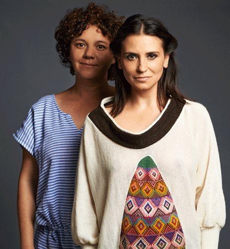Daniela Acuña-Lang y Francisca Gavilán