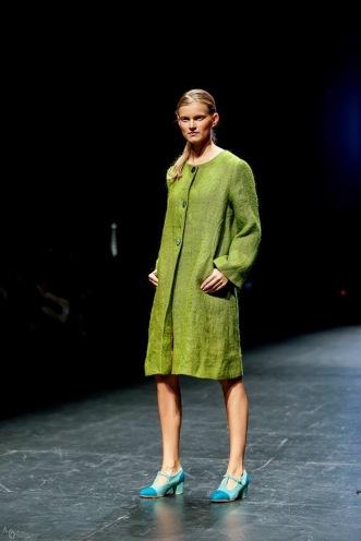 Avance Colección de Invierno abrigos de arpillera