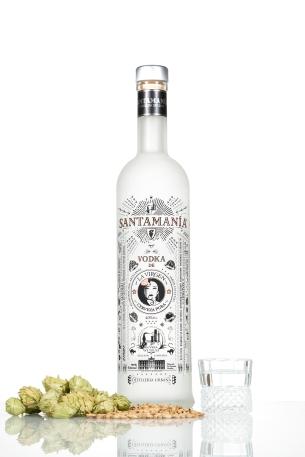 Vodka de cerveza La Virgen