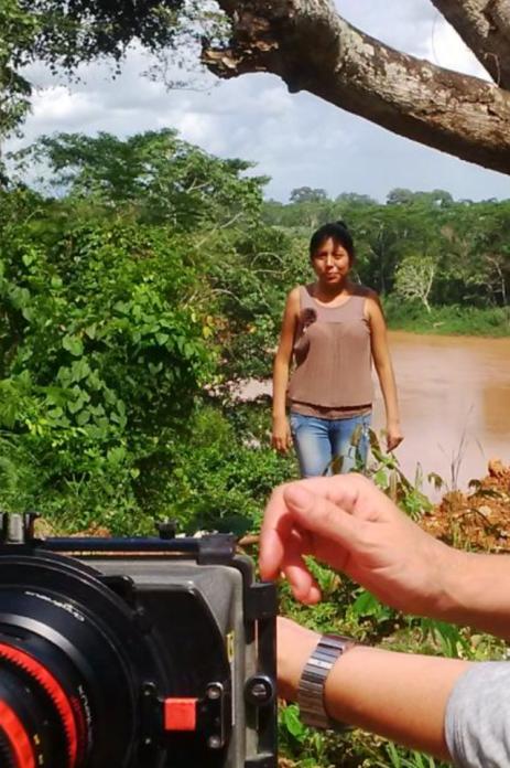 Rodaje en Paraguay