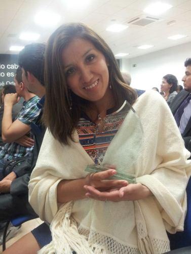 Rocío Ayala premiada como Latina Emprendedora