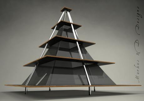 Estanteria Piramide