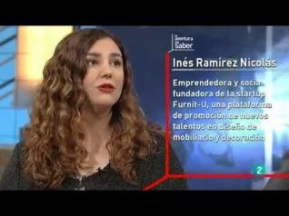 Inés Ramírez, creadora de Furnit-U