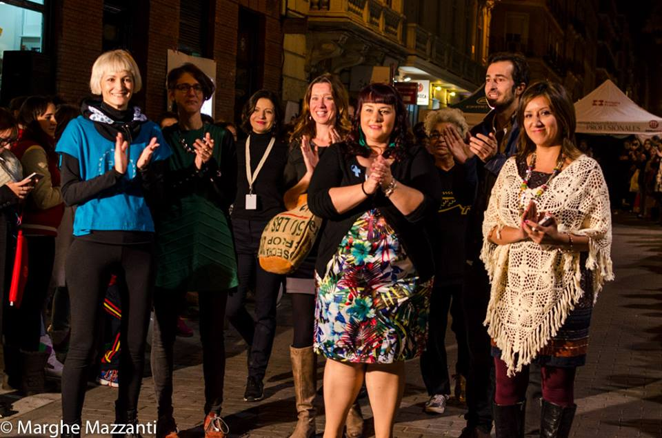 inkaPERU en el desfile urbano de moda sostenible LetiSlow!