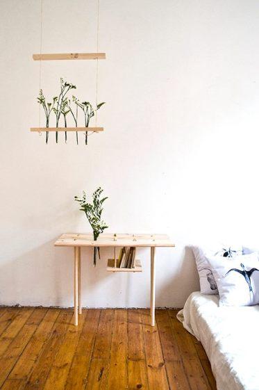 Diseño Columpio y Mesa, Javier Peña