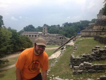 Antonello Novellino en Palenque (México)